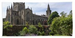 Dunfermline Abbey From The Abbot House Hand Towel