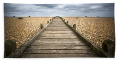 Dungeness Beach Walkway Bath Towel