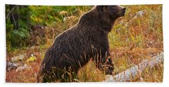 Dunraven Grizzly Bath Towel