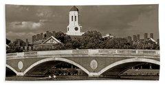 Weeks Bridge Charles River Bw Hand Towel