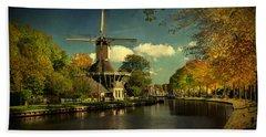 Dutch Windmill Hand Towel