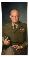 Dwight D Eisenhower Bath Towel