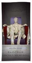 Ea-z-chair Lincoln Memorial 2 Hand Towel
