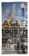 Eagles The Long Run Tour Hand Towel