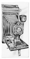 Early Kodak Camera Hand Towel