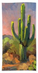 Early Light Hand Towel by Diane McClary
