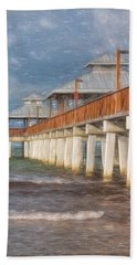 Early Morning At Fort Myers Beach Hand Towel