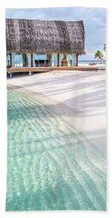 Early Morning At The Maldivian Resort 1 Hand Towel