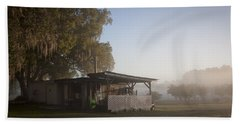 Bath Towel featuring the photograph Early Morning On The Farm by Lynn Palmer