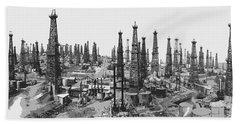 Early Oil Field Hand Towel