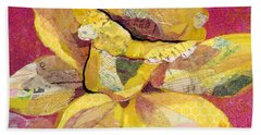 Early Spring IIi  Daffodil Series Hand Towel by Shadia Derbyshire