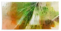 Earth Silk Hand Towel by Holly Kempe