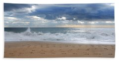 Earth's Layers - Jersey Shore Bath Towel