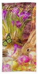 Easter Bunny Hand Towel