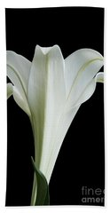 Easter Lily Bath Towel