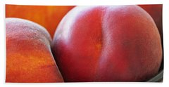 Hand Towel featuring the photograph Eat A Peach by Rona Black