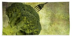 Eat Your Broccoli Hand Towel