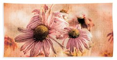 Echinacea Impressions  Hand Towel