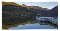 Echo Lake - Franconia Notch State Park New Hampshire Usa Bath Towel