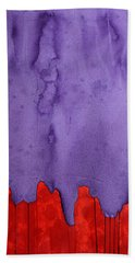 Edge Of The West Original Painting Hand Towel