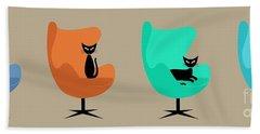 Egg Chairs Hand Towel