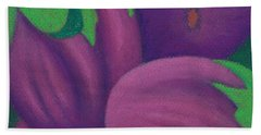 Eggplants Bath Towel