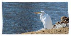 Egret Hand Towel