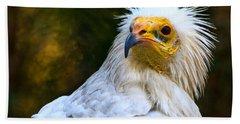 Egyptian Vulture Hand Towel