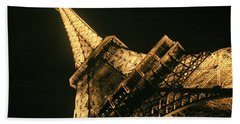 Eiffel Hand Towel by Silvia Bruno