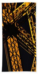 Eiffel Tower Detail Hand Towel