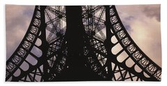 Eiffel Tower Paris France Bath Towel