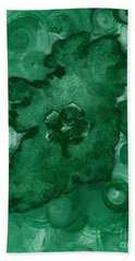 Eire Heart Of Ireland Bath Towel by Alys Caviness-Gober