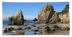 El Matador Beach Bath Towel