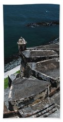 El Morro From Above Hand Towel