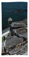El Morro From Above Bath Towel