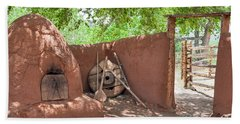 Hand Towel featuring the photograph El Rancho De Las Golondrinas by Roselynne Broussard