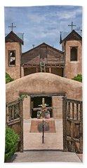 El Santuario De Chimayo #2 Bath Towel by Nikolyn McDonald