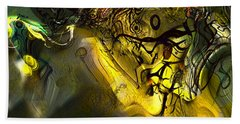 Hand Towel featuring the digital art Elaboration Of Day Into Dream by Richard Thomas