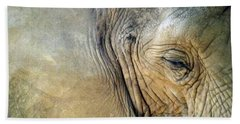 Elephant One  Bath Towel