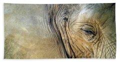 Elephant One  Bath Towel by Joyce  Wasser