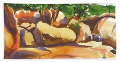 Elephant Rocks Revisited I Hand Towel
