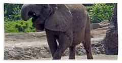 Elephant Two Bath Towel