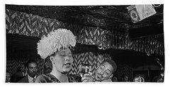 Ella Fitzgerald And Dizzy Gillespie William Gottleib Photo Unknown Location September 1947-2014. Hand Towel