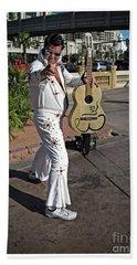 Elvis Presley Hand Towel by Edward Fielding