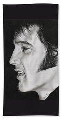 Elvis Presley  The King Hand Towel