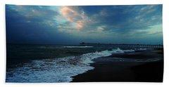 Emerald Isle Bath Towel by Mim White