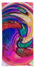 Emergence - Digital Art Hand Towel