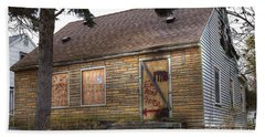 Eminem's Childhood Home Taken On November 11 2013 Bath Towel