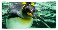 King Penguin Hand Towel