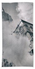 Empire State Building And Steam Bath Towel